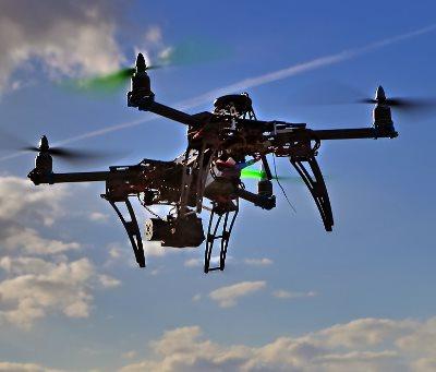 Drohnenvideos für Videos aus der Luft
