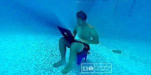 unterwasser-poolfotos